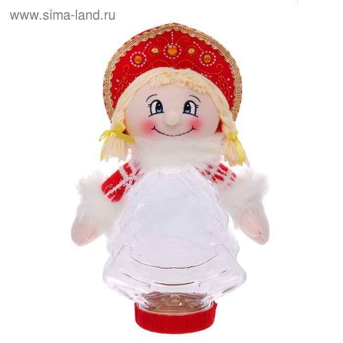 """Подарочная упаковка """"Снегурочка с косичками"""", 320 г"""