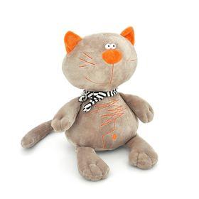 """Мягкая игрушка """"Кот Батон"""", цвет серый"""