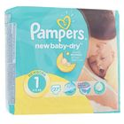 Подгузники Pampers New Baby-dry, New Born 1 (2-5 кг), 27 шт.