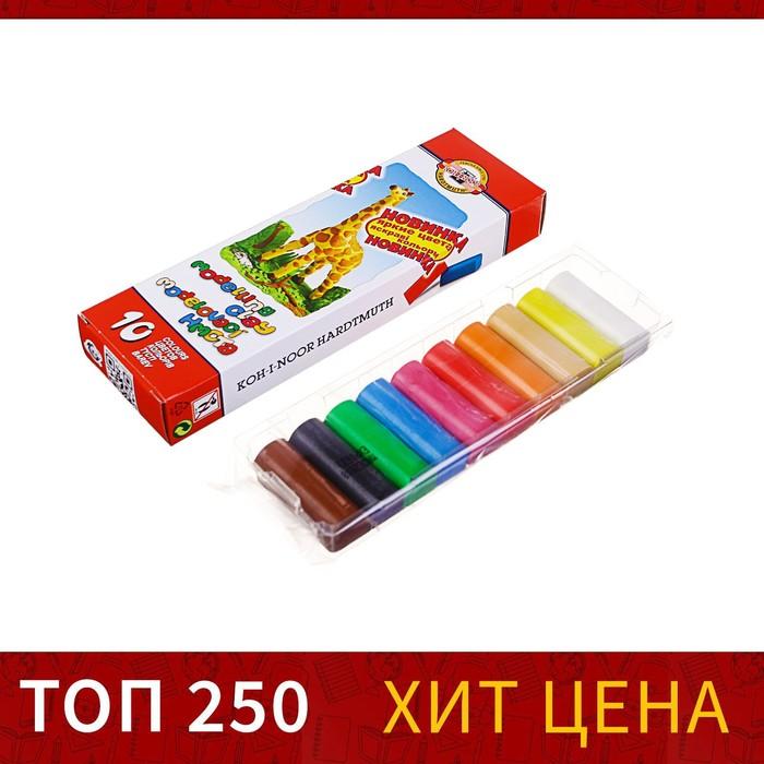 "Пластилин 10 цветов ""Детский"", картон"