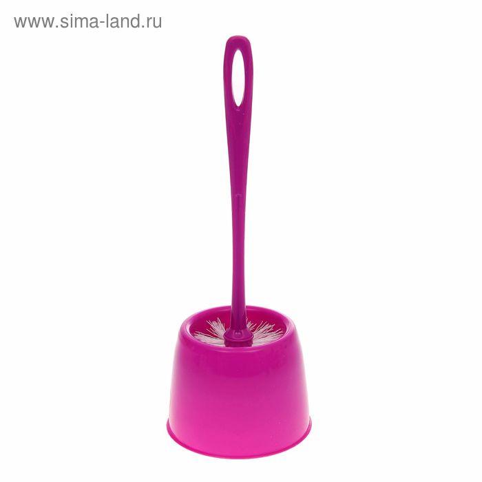 """Ерш для унитаза с подставкой """"WC Мини"""", цвет аметист"""
