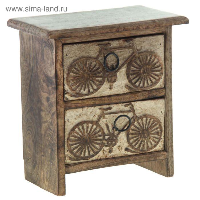 """Шкатулка-комод """"Велосипед"""""""