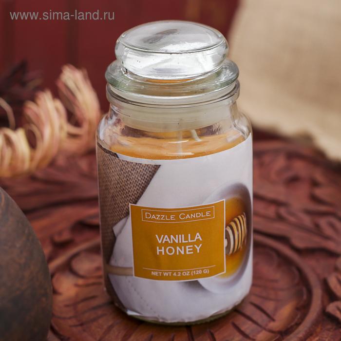 Свеча в банке Ваниль-мёд, 140 мл