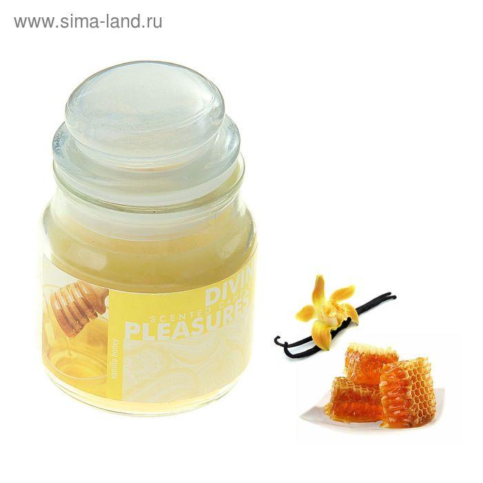Свеча в банке Ваниль-мёд, 82 мл