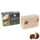 Мыло глицериновое с эфирными маслами ручной работы 100 гр Кокос-Инжир