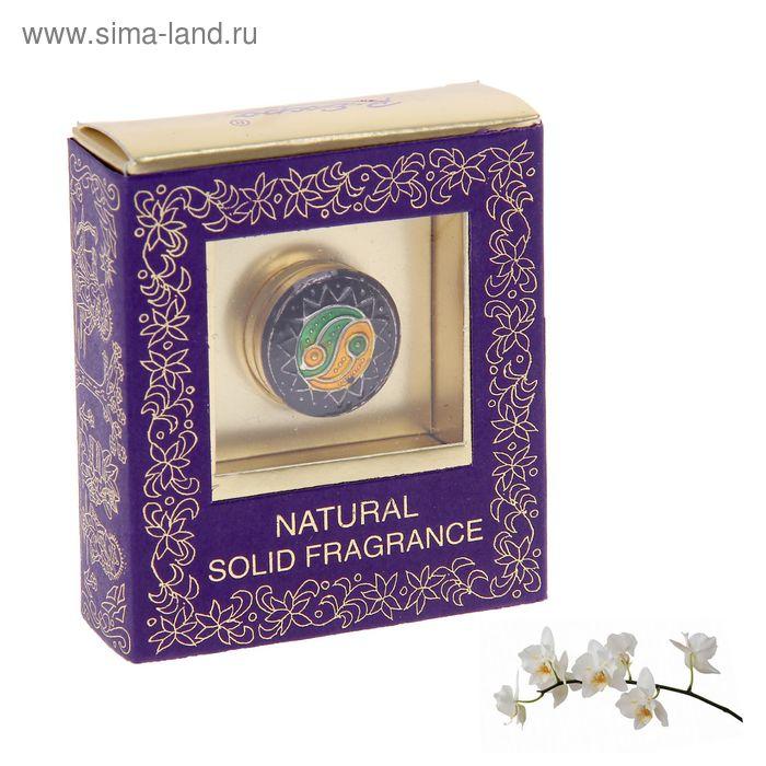 Сухие духи 4 гр в жестяной банке мини Орхидея