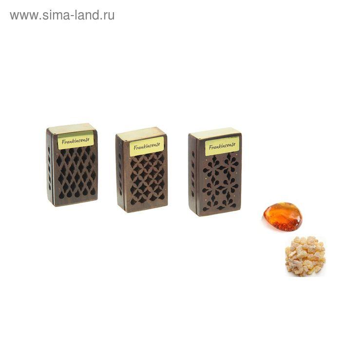 Аромасашеянтарь в шкатулке Ладан - Амбер, 5 г. МИКС