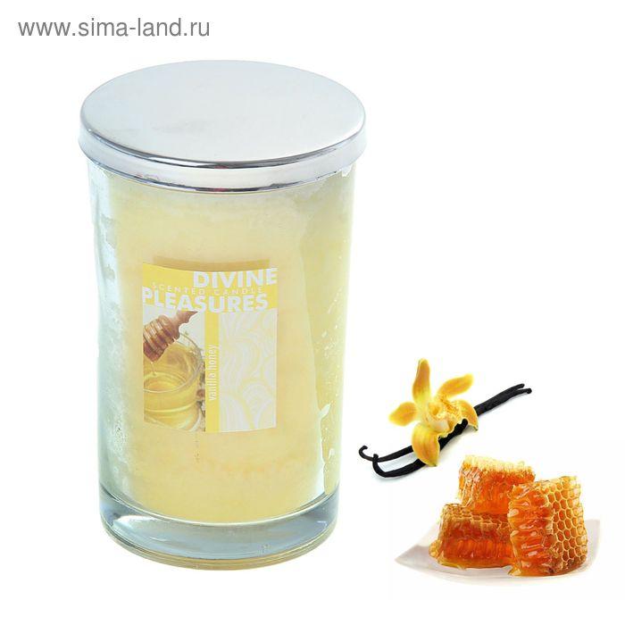 Свеча в банке Ваниль-мёд, 280 мл