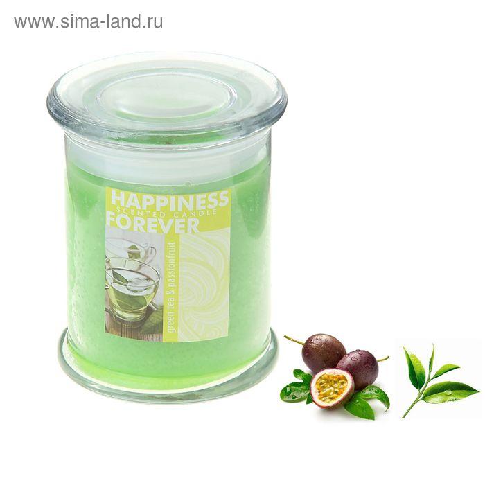 Свеча в банке Зелёный чай-маракуйя, 250 мл