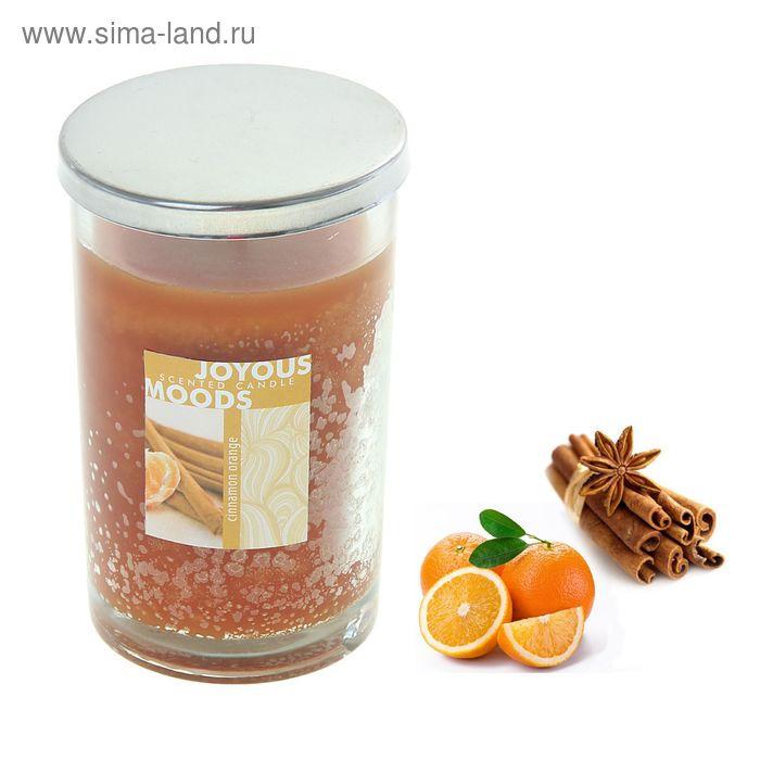 Свеча в банке Корица-апельсин, 280 мл