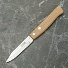 """Нож для овощей 17 см """"Традиционный"""", на деревянной ручке, лезвие 8 см"""
