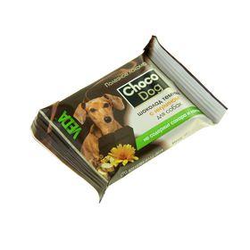 Темный шоколад CHOCO DOG с инулином для собак, 15 гр