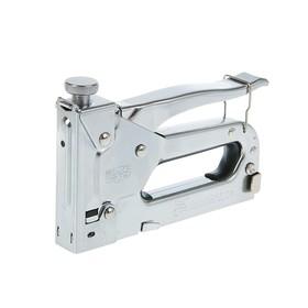 Степлер мебельный MATRIX, 4-14 мм, тип скоб 53, металлический корпус, регулируемый