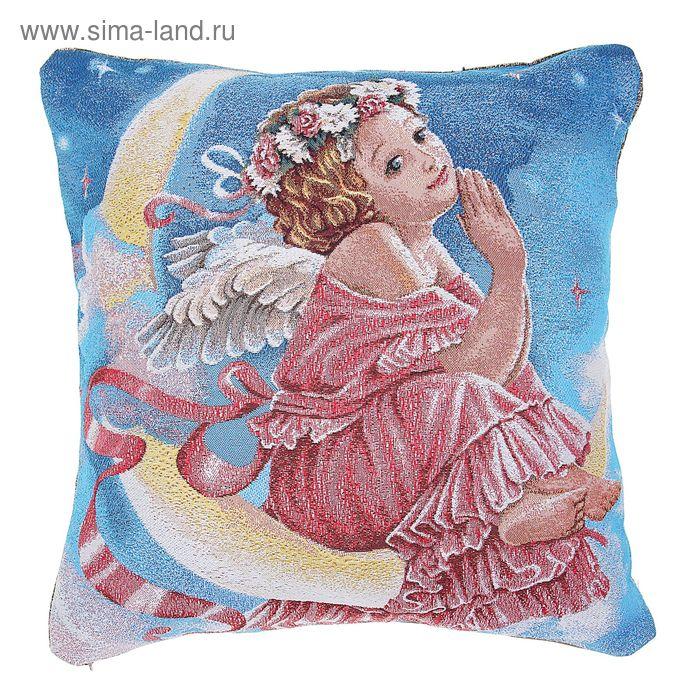 "Наволочка из гобелена Dekortex ""Лунный ангел"", размер 50х50 см"