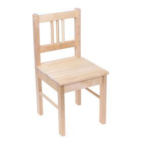 """Детский стульчик """"Колибри"""", высота до сиденья 29 см, цвет берёза"""