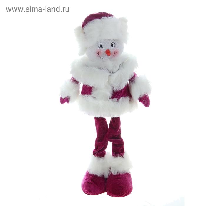 """Мягкая игрушка """"Снеговик-фиолетик"""""""