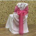 Бант-завязка на стул 25х280 см розовый (Без чехла)