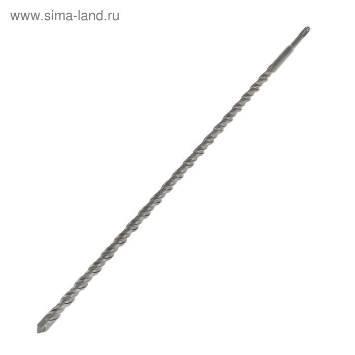 Бур по бетону TUNDRA, двойная спираль, SDS-Plus 16 х 600 мм