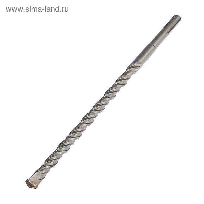 Бур по бетону TUNDRA, двойная спираль, SDS-Plus 14 х 260 мм