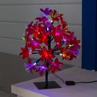 """Светодиодный куст улич. 0,3 м, """"Лилия красная"""", 32 LED, 220V, моргает RG/RB"""