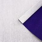 Бумага гофрированная 802/6 серебристо-синий металл, 50 см х 2,5 м
