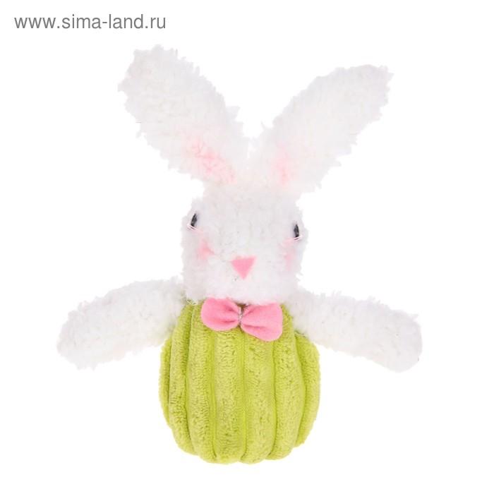 """Мягкая игрушка """"Кролик"""" с бантиком, МИКС"""