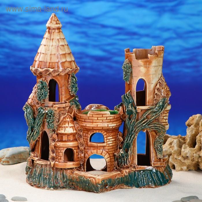 """Декорации для аквариума """"Замок"""" большой, микс"""