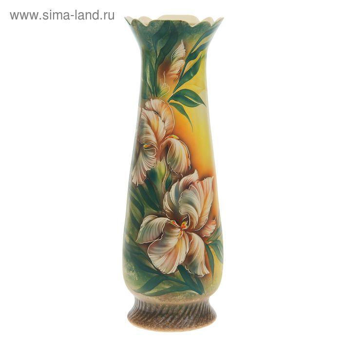 """Ваза напольная """"Мэри"""" цветы"""