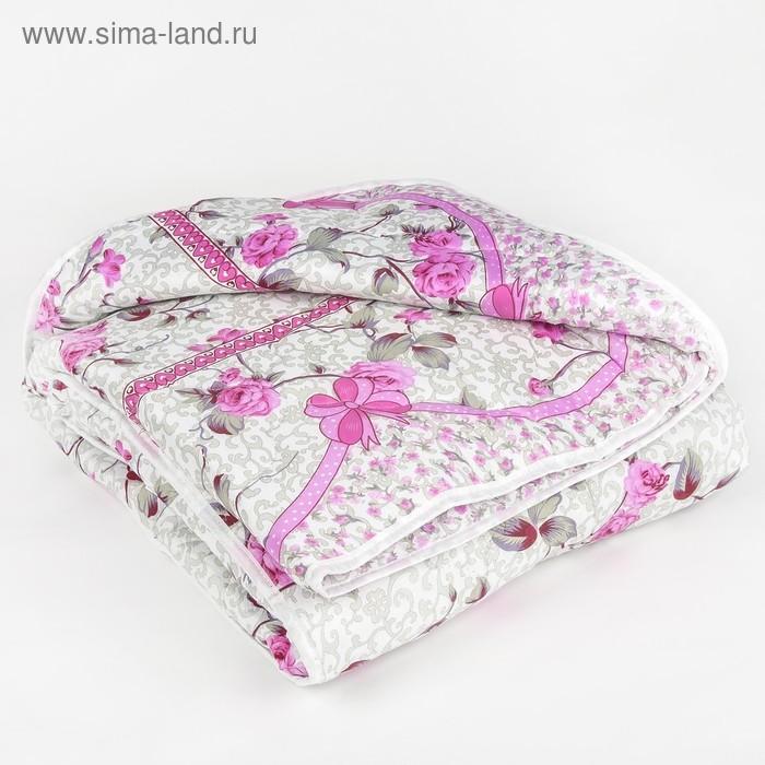 Одеяло всесезонное, синтетическое Адамас, размер 140х205 ± 5 см, 300гр/м2, чехол п/э