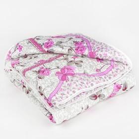 Одеяло всесезонное, синтетическое Адамас, размер 172х205 ± 5 см, 300гр/м2, чехол п/э Ош