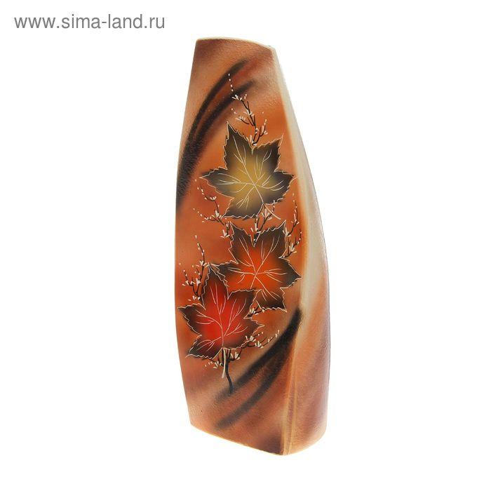 """Ваза напольная форма """"Скала"""" Кленовые листья"""