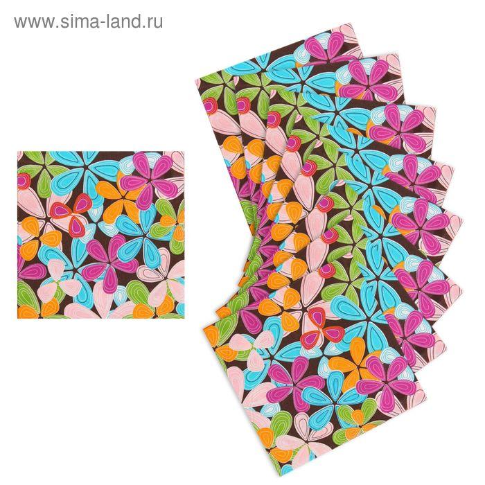 """Салфетки бумажные """"Цветочная экзотика"""" (набор 20 шт)"""