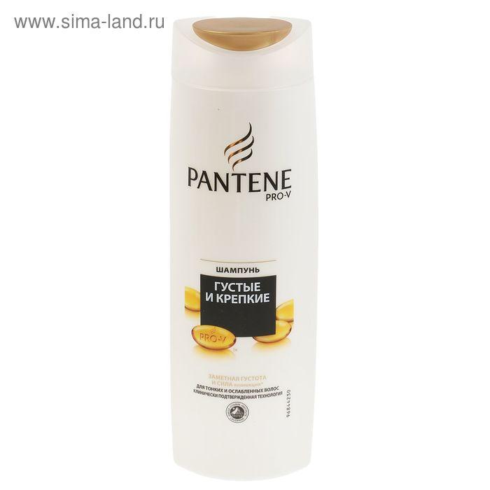 Шампунь Pantene Густые и крепкие для тонких и ослабленных волос 400 мл