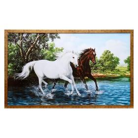"Картина ""Пара лошадей"""