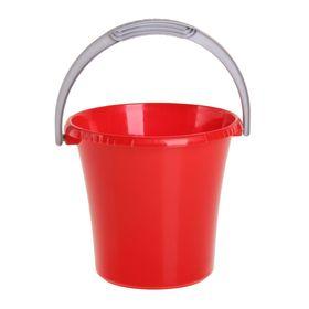 Ведро 5 л 'Либерти', цвет красный Ош