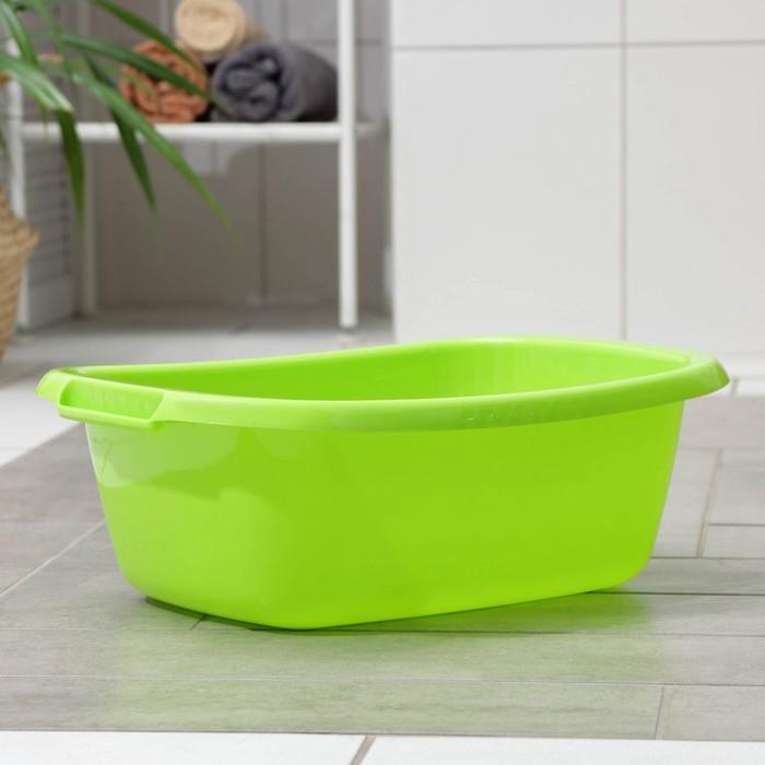 """Таз """"Водолей"""" овальный 11 л, цвет салатовый"""