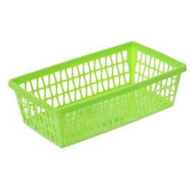 """Корзина для хранения """"Велетта"""" прямоугольная 25х14х7 см, цвет МИКС"""