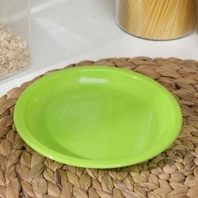 Тарелка для закусок d=16 см, цвет МИКС