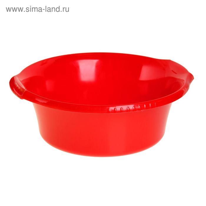 """Таз 16 л """"Водолей"""" круглый, цвет красный"""