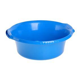 Таз 'Водолей' круглый 9 л, цвет синий Ош