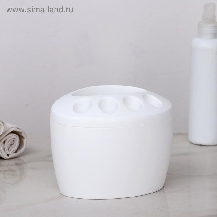 """Подставка для зубных щеток """"Камея"""", цвет МИКС"""