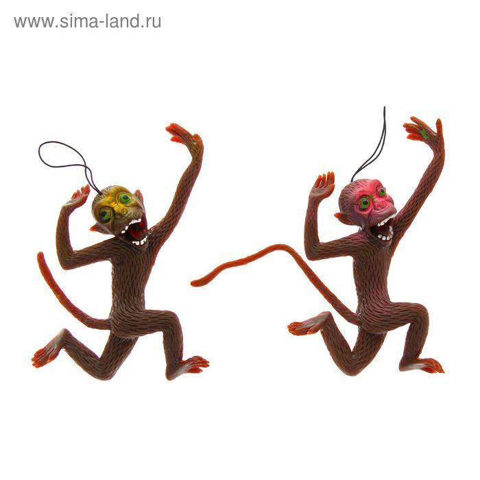 """Прикол резиновый """"Обезьяна"""", цвета МИКС"""