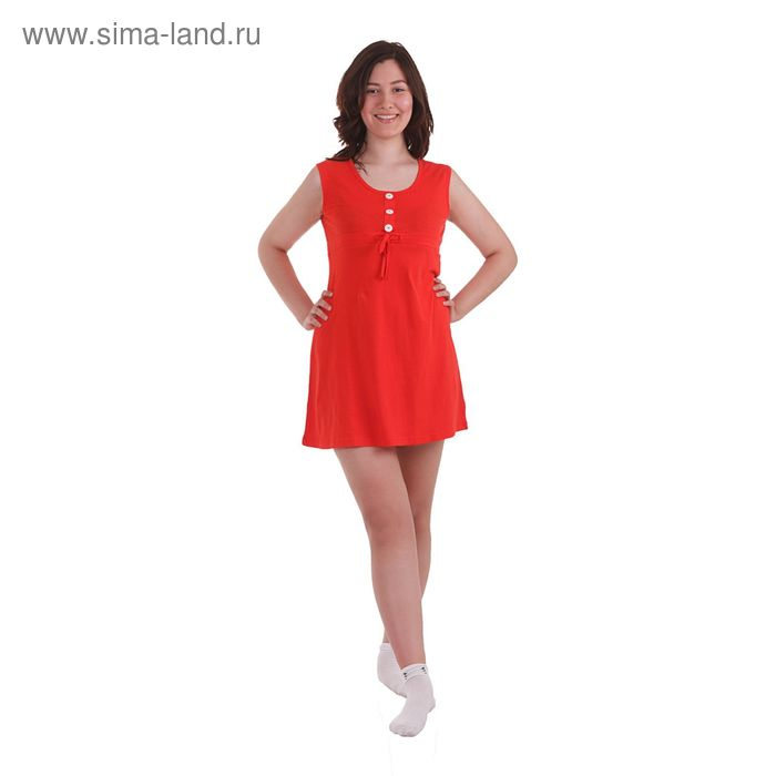 Сарафан женский, размер 46, цвет красный (30642)