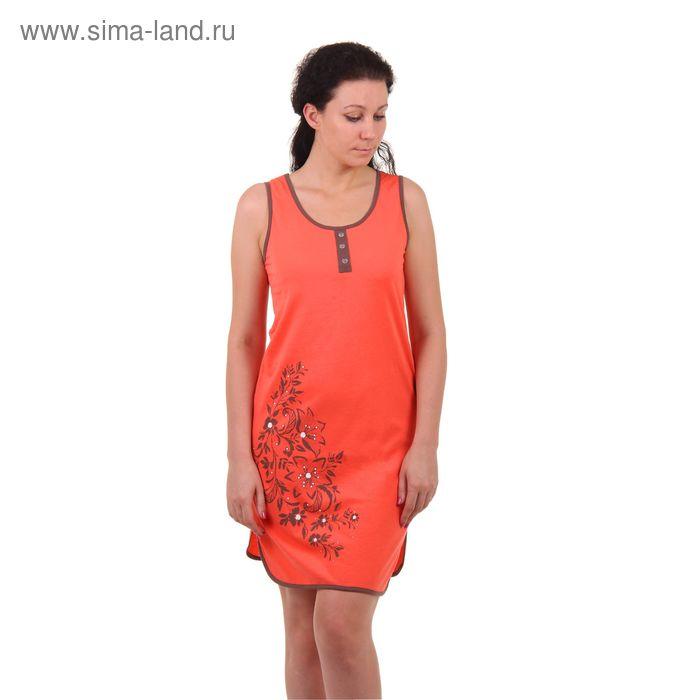 Платье женское PK2383/01 персик, рост 158-164 см, р-р 50