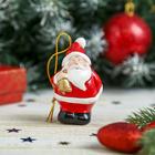 """Сувенир """"Дед Мороз с колокольчиком"""""""