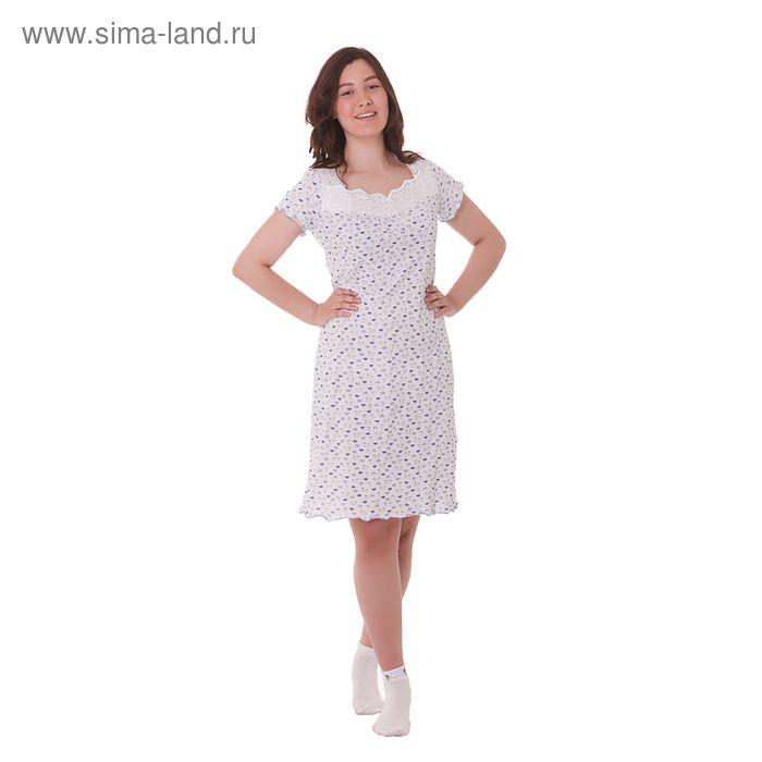 Сорочка женская с кружевом А335 МИКС, р-р 54 (XXXL)