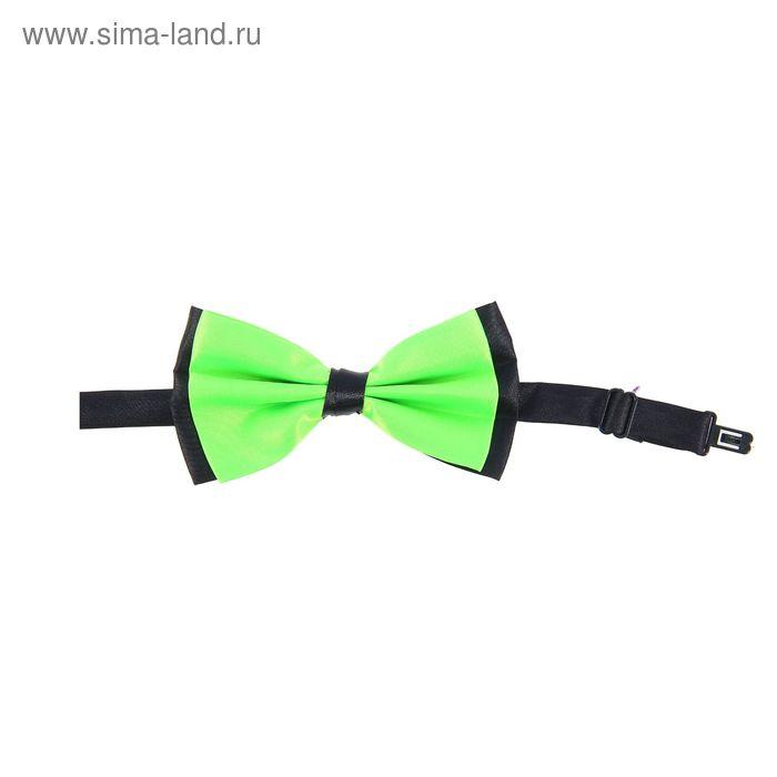 Карнавальная бабочка, цвет зелёный