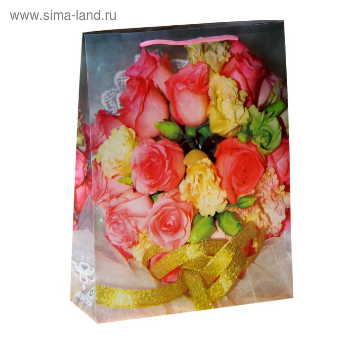 "Пакет пластиковый ""Бутоны роз"""
