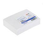 Конверт почтовый С6 114х162мм чистый, без окна, клей, внутренняя запечатка, 80 г/м, упаковка 100 шт