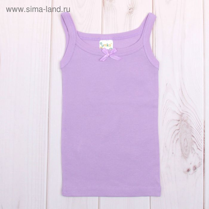 Майка для девочки, рост 134-140 см, цвет МИКС AZ-638_Д